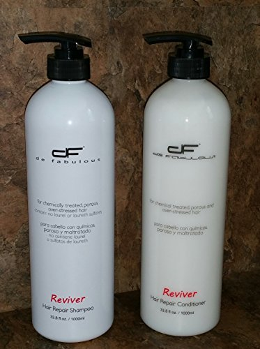 De Fabulous Reviver Hair Repair Shampoo - Chemical Treate...