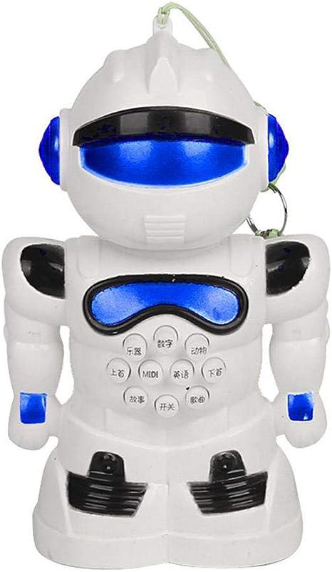 Jackyee-123 Robot Inteligente Multifuncional, Carga de Juguetes para niños, Robot a Control Remoto con Baile Chico, Modelo de Robot, Juguete para niños, Juguetes interactivos Super personales, Juega: Amazon.es: Hogar