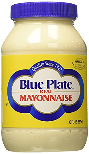 Blue Plate Real Mayonnaise, 30 Ounce (4 Pack) by Blue Plate