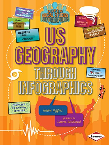 US Geography through Infographics (Super Social Studies Infographics) (Through Geography)
