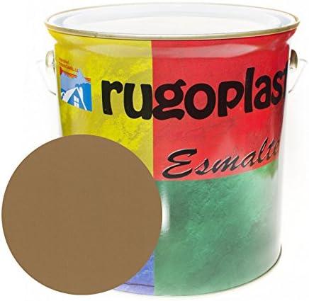 Esmalte sintético de alta calidad ideal para pintar hierros, rejas, portones, puertas, ventanas, madera... Brillante / Satinado / Mate / Forja / Aluminio Plata / Metalizado Varios Colores (0,375Ml, Ga
