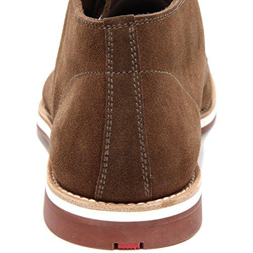 Sport Uomo 6 Marrone Scamosciato Polacchino Shoes Scarpa Prada Men Boots 86405 1IqERR