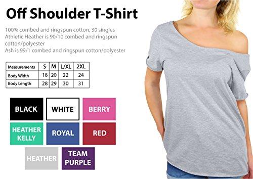 Off-Shoulder Printed T-Shirt