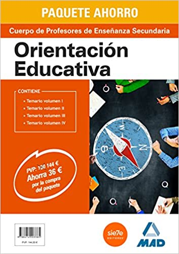 Paquete Ahorro, Orientación Educativa, Cuerpo de Profesores ...