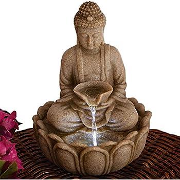 Amazon Com Kheops International Water Fountain Buddha