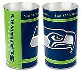 Seattle Seahawks 15 Waste Basket - Licensed NFL Football Merchandise
