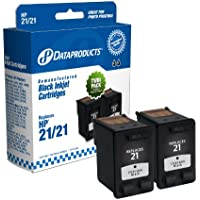 Dataproducts DPC51ANTWN Remanufactured Ink Cartridge Replacement for HP #21 (Twin Pack - Black)