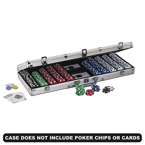 Fat Cat Replacement Aluminum Poker Chip Case - 500ct by Fat Cat