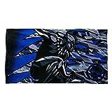 m marvel - Marvel Black Panther Premium Beach Towel with Bag 427266294187