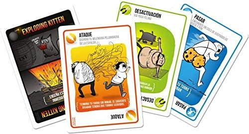 Juego de cartas Exploding Kittens: Amazon.es: Juguetes y juegos