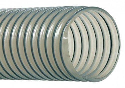 Hi-Tech Duravent Vac-U-Flex TPU Series Polyurethane Vacuum Hose, Clear, 3