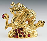 YEAR OF DRAGON 24K Swarovski Crystal Chinese Zodiac