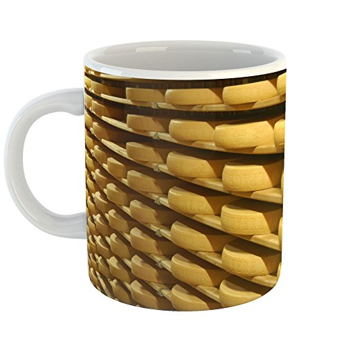 Westlake Art - Corn Gruyre - 11oz Coffee Cup Mug - Modern Picture Photography Artwork Home Office Birthday Gift - 11 Ounce (Classic Cheese Straws)