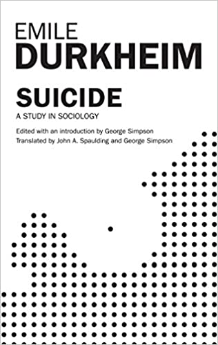 What are the types of suicide given by Durkheim?