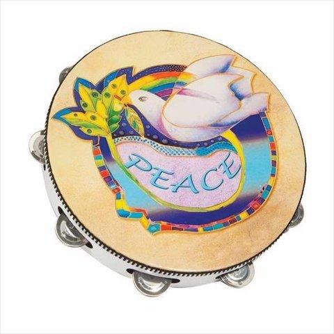低価格の Holy Land Symbol Gifts 106614 Instr Instr Of Tambourine 10 In. Round Dove Symbol Of PeaceB00L3Y6722, さくら茶舗:0c3f5e28 --- rsctarapur.com