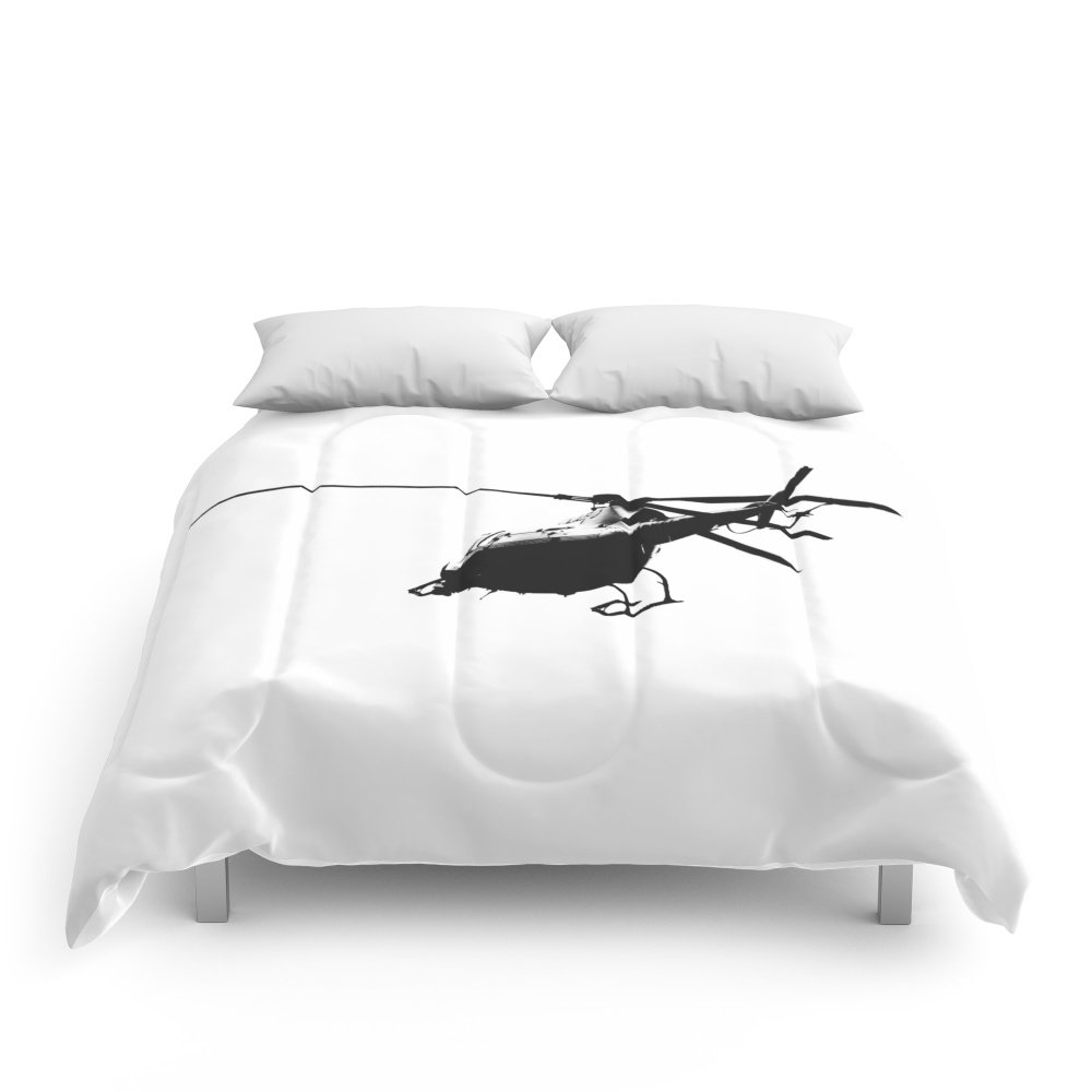 Society6 Copter! Comforters Queen: 88'' x 88'' by Society6