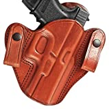Tagua DSH-402 Sig Sauer P220/P226 Dual Snap Holster, Brown, Right Hand