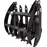 "34"" Grapple Rake Attachment Mini Skid Steer Toro Dingo Ditch Witch Boxer Kanga"