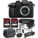Panasonic DC-GH5KBODY 4K Mirrorless Camera w/Rode VideoMic Pro Kit