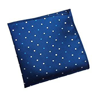 68f6a2110d78e Men s Pocket Square Handkerchiefs - Business Suits Fashion Accessory  Assorted Printing Patterns 25×25cm (