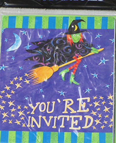 Halloween Party - You're Invited Witch - 8