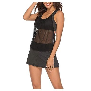 Bañador/Bikini Nueva Falda de Split Deportes Ropa de Yoga Ropa ...