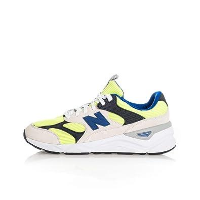 New Balance Sneakers X 90 Giallo Grigio Nero Blu MSX90TBA