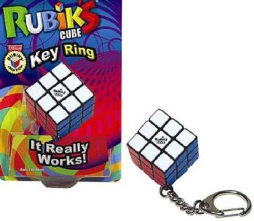 Rubiks Key Ring - A Rubiks Cube Keychain by Winning Moves