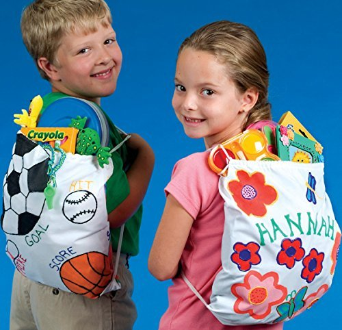 - Color-Me Backpack (makes 12)