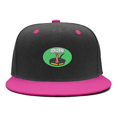 Bits Bacon Recipes (ddasqas Bacon Bits Unisex Hip-Hop Caps Summer Hats)