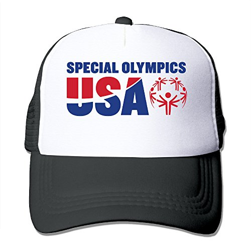 LOKIKA USA Special Olympics Mesh Cap Trucker Cap Hat