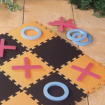 Tapete de espuma EVA para piso de juegos de jardín gigantes de cruces y nueces para interiores y exteriores: Amazon.es: Bricolaje y herramientas