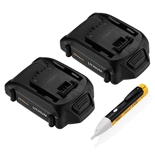 v 2.5Ah Replacement Lithium Battery Compatible with Worx Cordless Power Tools Series WA3525WG151s, WG155s, WG251s, WG255s, WG540s, WG545s, WG890, WG891 ()