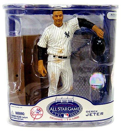 McFarlane MLB 2008 ASG Fan Fest Exclusive Derek Jeter New York Yankees Action Figure (Series Yankees Fan)