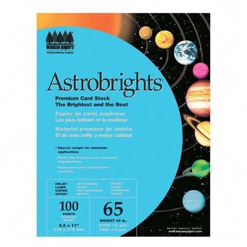 Amazon.com : WAU22721 - Neenah Paper Astrobrights Colored ...
