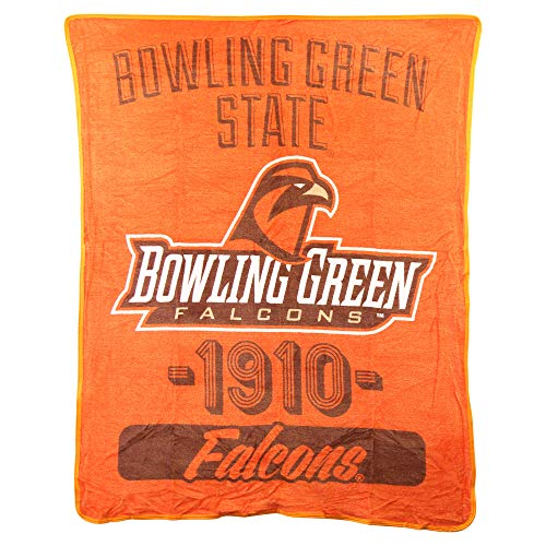 (The Northwest Company NCAA Collegiate Varsity Super Soft Plush Throw Blanket (Bowling Green Falcons))