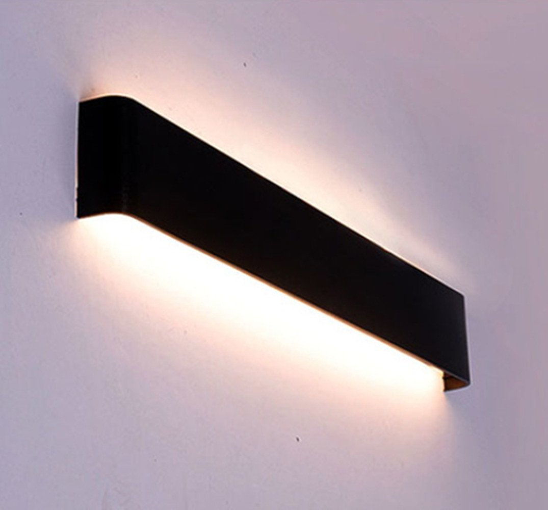 8w Lighting 25cm Interieur Applique Murale Wonders Aluminium Noire XZuOiPk