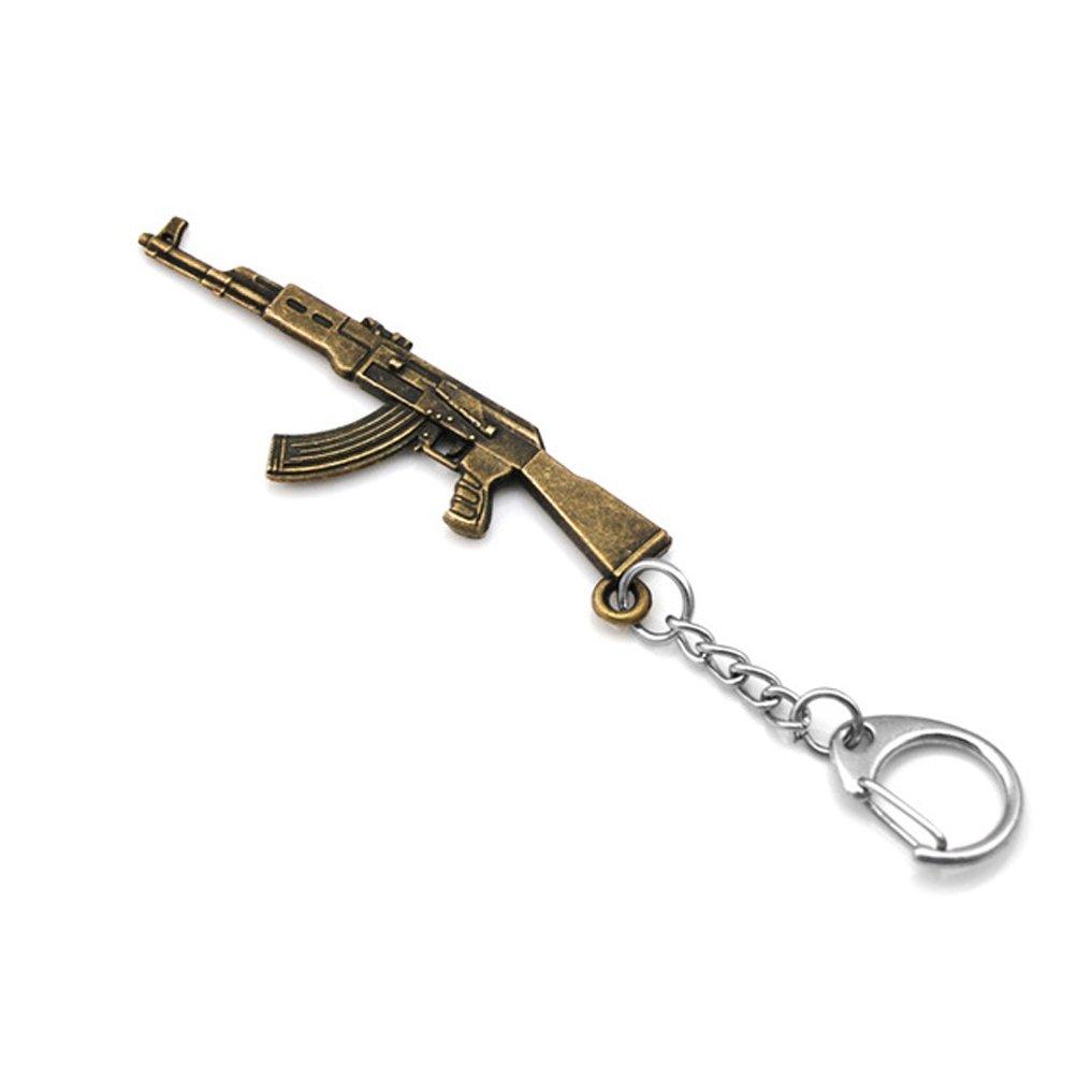 Llavero de pistola en miniatura con diseño de arma Ak47 ...