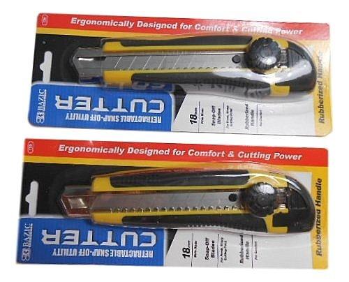 Bazic Multipurpose Utility Cutter Yellow