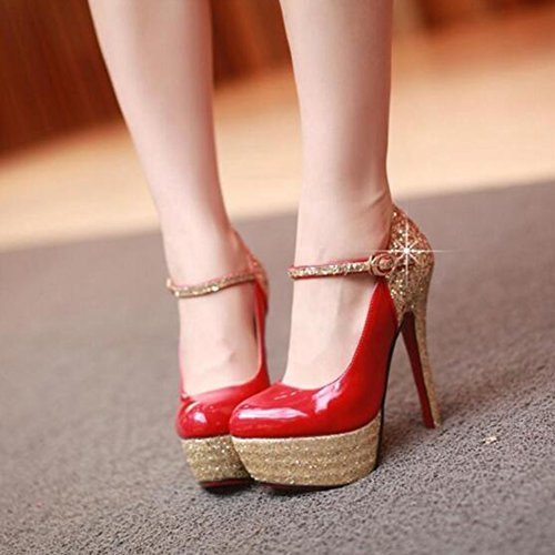 YIXINY Zapatos de tac YIXINY Zapatos wOxR1q0rFO