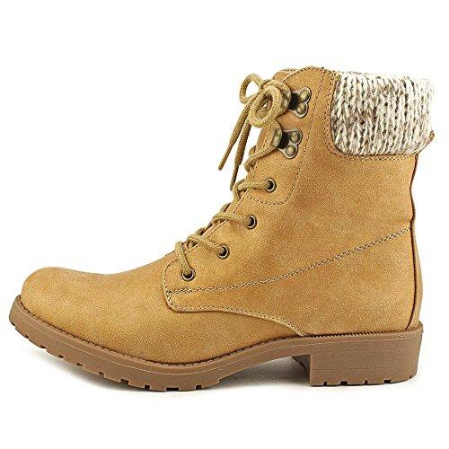 Seven Dials Soha, Kaltes Wetter Stiefel Frauen, Geschlossener Zeh Wheat/Fabric/Sweater
