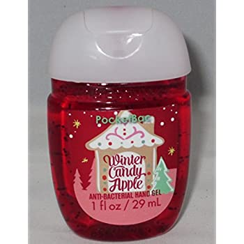 Amazon.com : Bath & Body Works Winter Candy Apple Pocketbac Bundle of 5 -- New Oval ...