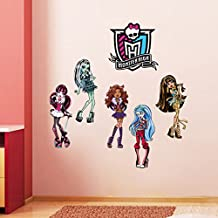 Fangeplus(TM) Removable Monster High DIY Art Vinyl Quote Wall Sticker Decal Mural Home Stickers Decor 35''x23''
