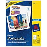 AVE8383 - Avery Photo-Quality Glossy Postcards for Inkjet Printers