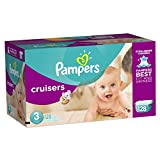 Pampers Cruisers, Unisex, Talla 3, 128 Pañales