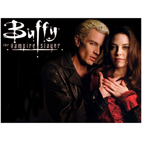 James Marsters 8 x 10 Photo Buffy the Vampire Slayer Spike in Black & Drusilla in Red Poster kn (James Marsters In Buffy The Vampire Slayer)