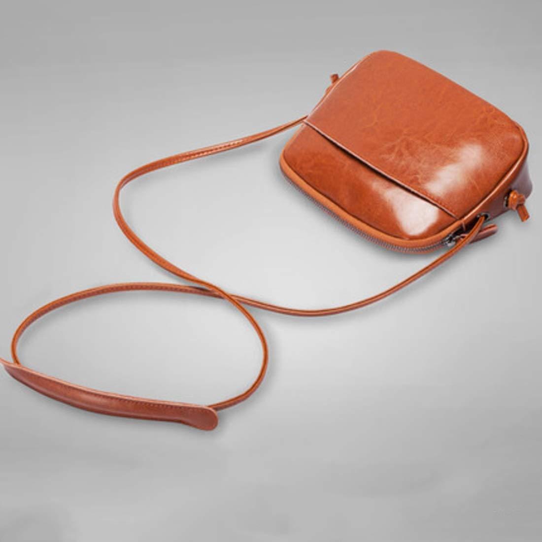 ArotOVL Damen Shell Bag Satchel Handtaschen Nachricht Tasche Umhängetasche Tote Tote Tote Geldbörse (Farbe   braun) B07PP2RDQW Schultertaschen Fairer Preis eae539