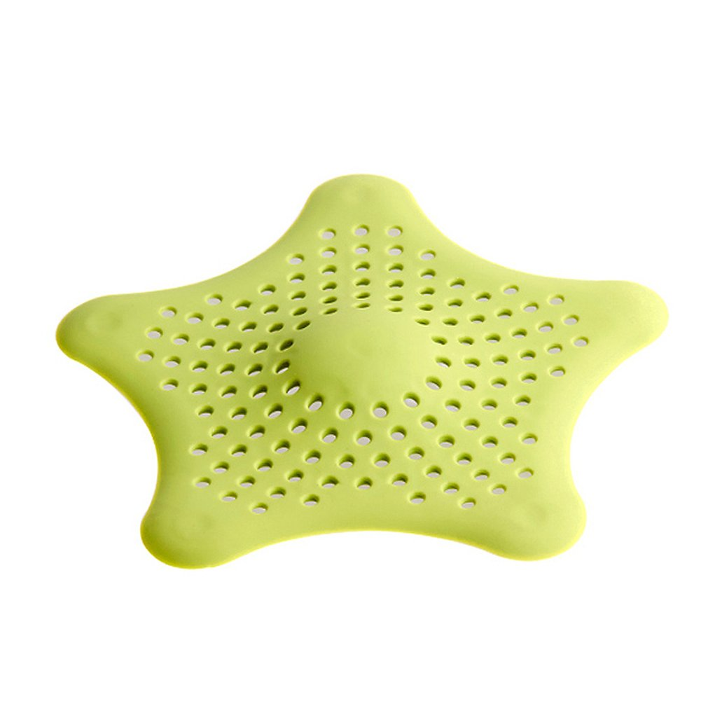 high-quality Jm Home Good Grips Silicone Hair Stopper Sink Strainer(green)