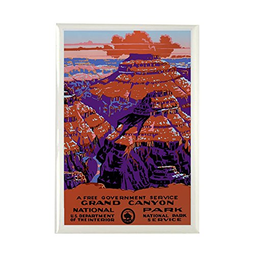 CafePress - Grand Canyon - Rectangle Magnet, 2