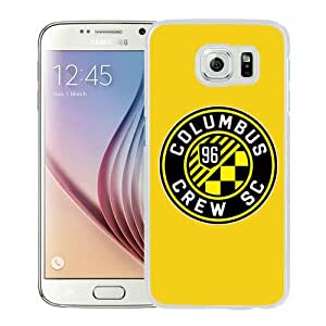 Fashionabe Samsung Galaxy S6 Case ,Popular And Unique Designed Case With Columbus Crew 13 White Samsung Galaxy S6 Cover Phone Case